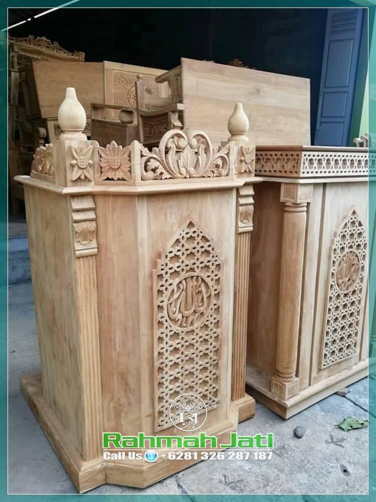 Mimbar Masjid Terbaru