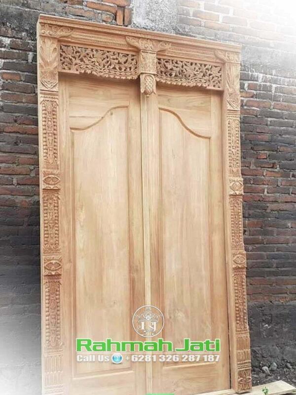 Desain Pintu Gebyok