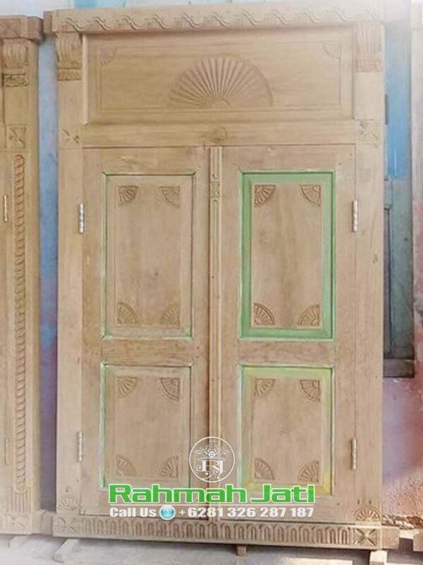 Model Pintu Gebyok