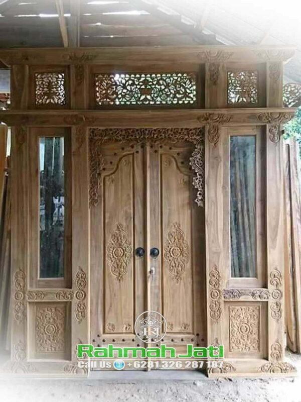 Pintu Gebyok Modern