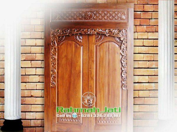Pintu Gebyok Style Bali